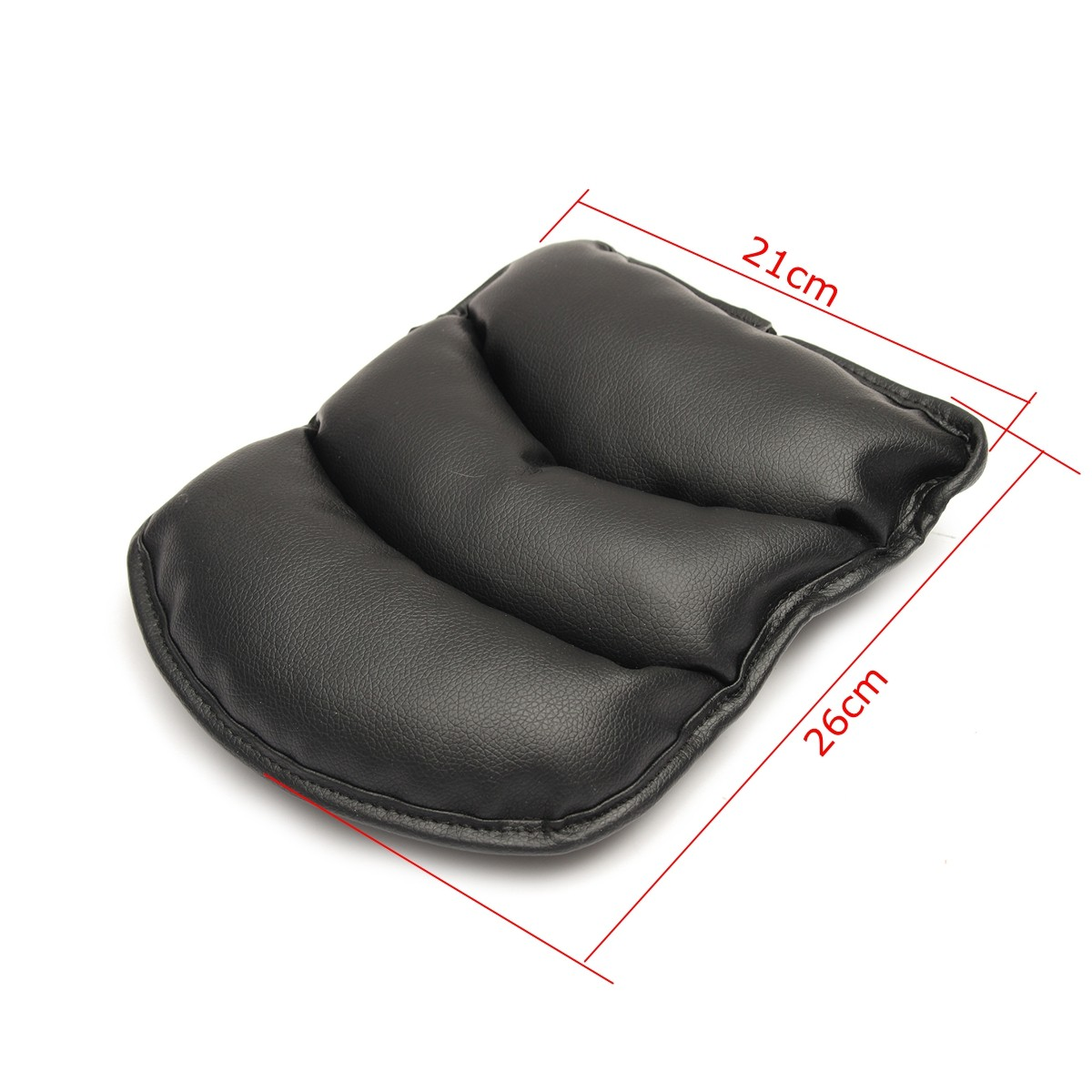 Universal PU Leather Car Arm Rest Mat Storage Box Cover Cushion