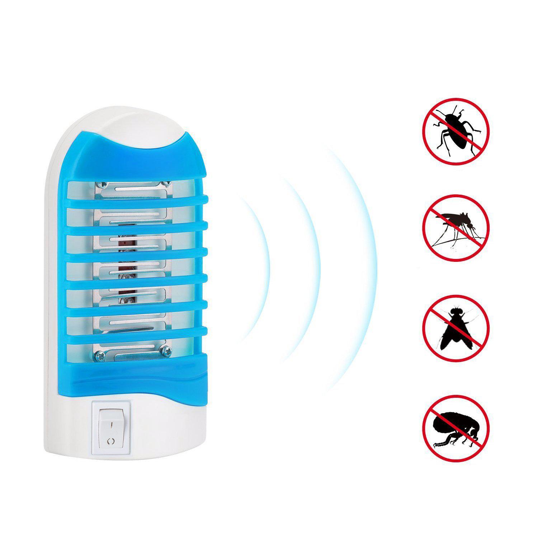 Loskii HA-20 5-я обновленная электронная лампа вилки в ошибке Заппер Пещерный убийца Насекомаяная ловушка Убийца москитов Лампа