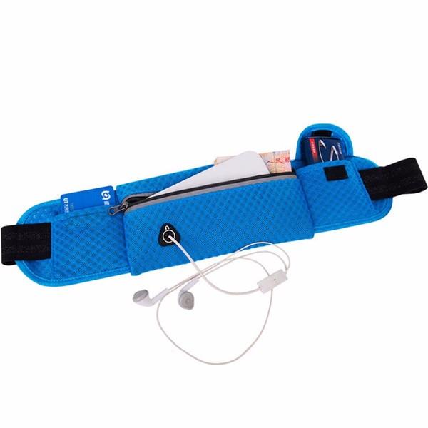 Maiye работает сумка спортивная сумка талии воздухопроницаемой сеткой БЕГОВОГО мешок для смартфона под 6 дюймов