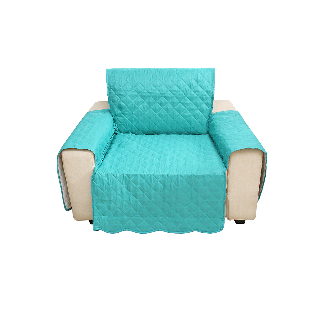 Single Seat Sofa Cover Living Room Home Decoration Polyester Fashion Dust-proof Chair Covers