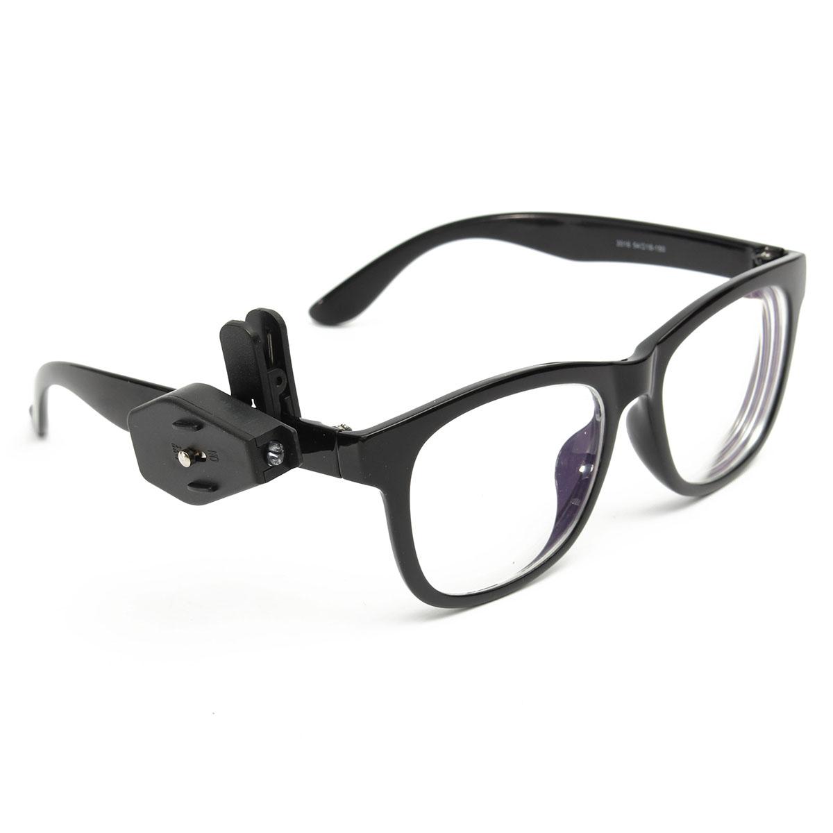 Универсальные гибкие мини-очки LED клип на свет очки для чтения ремонта лампы