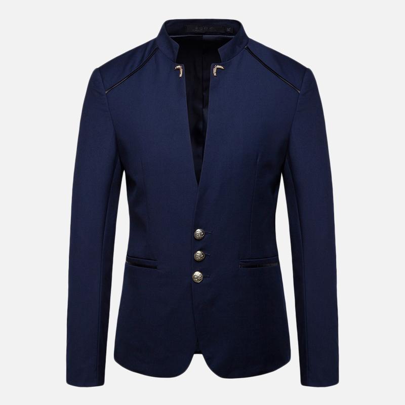 Мужская стильная подставка для воротника Тонкий Пиджак пиджака