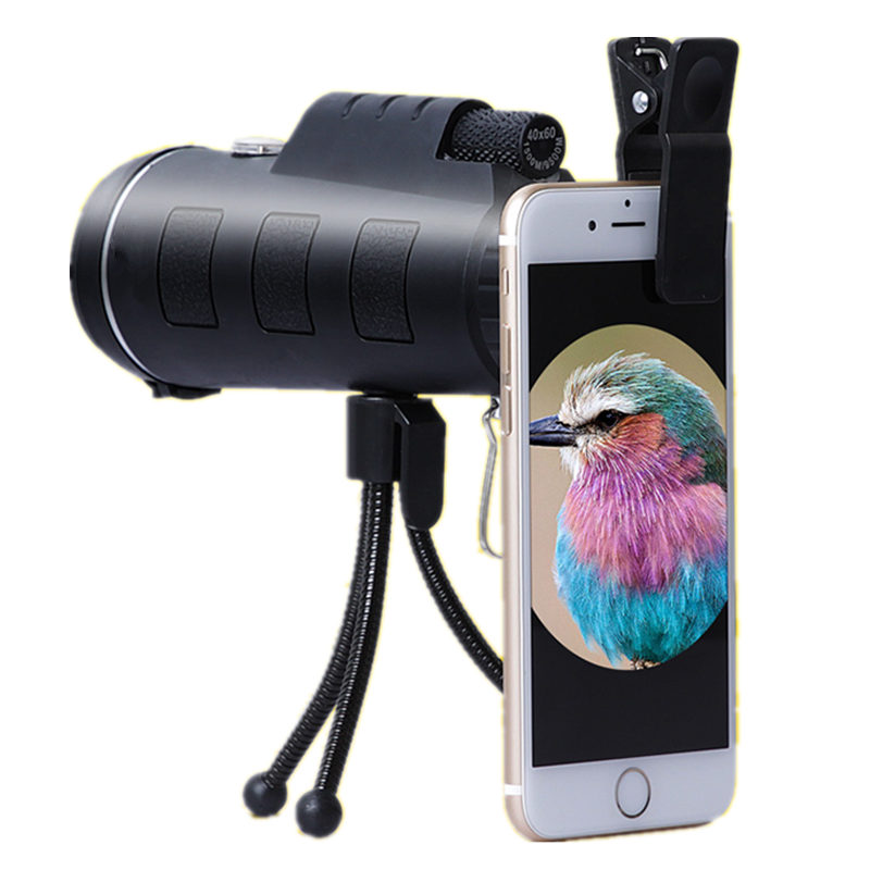 40X60 Zoom High-definition Monocular Telescope With Mil