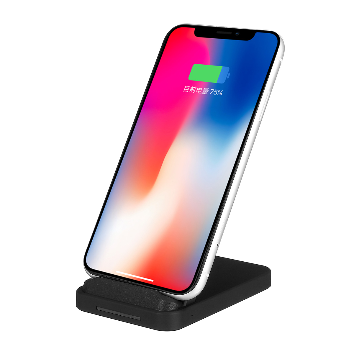 10W Intelligent Recognition QI Wireless Charger Phone Holder Mount for Samsung Xiaomi Huawei