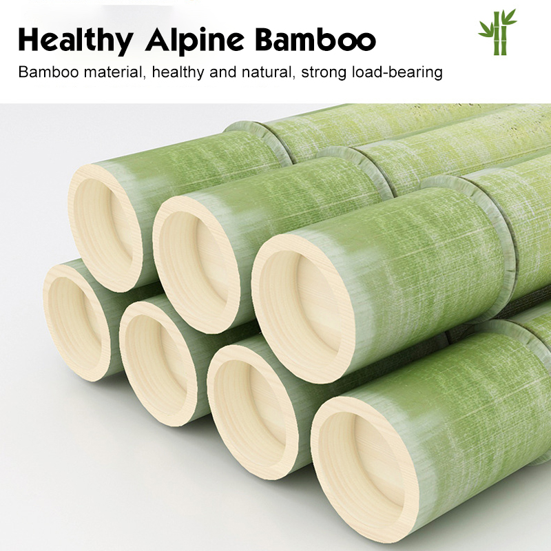 60 Inch Sturdy Natural Bamboo Tree Garment Clothes Coat Hat Hanger Stand Rack 8