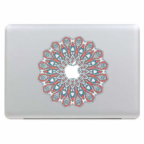Peacock's Fan Style Vinyl Sticker Skin Decal Cover Laptop Skin For Apple MacBook Air Pro