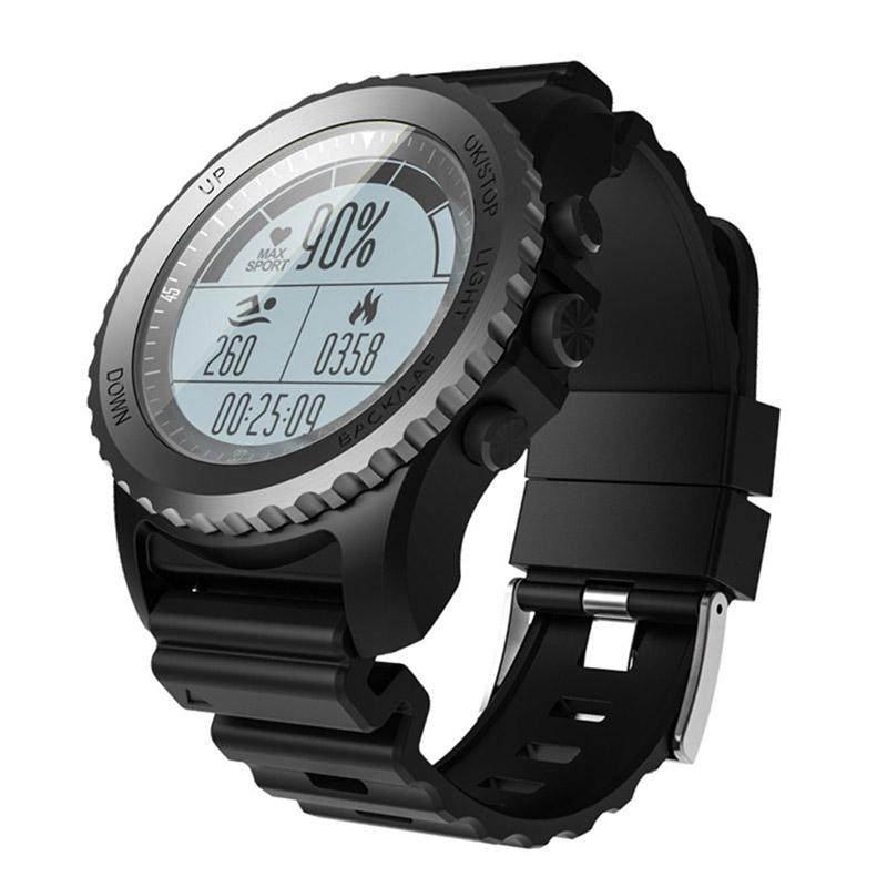 XANESS968SmartWatchIP68Водонепроницаемы GPS Сердце Оценить Монитор Swiming Diving Sport Watch для Android IOS