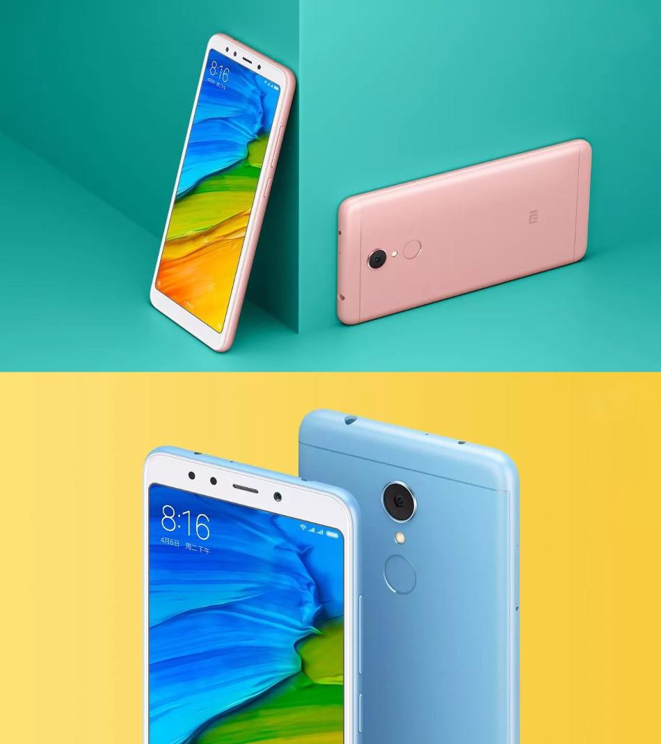 Xiaomi Redmi 5 Globale Version 5.7 inch 3GB 32GB Snapdragon 450 Octa core 4G Téléphone Intelligent
