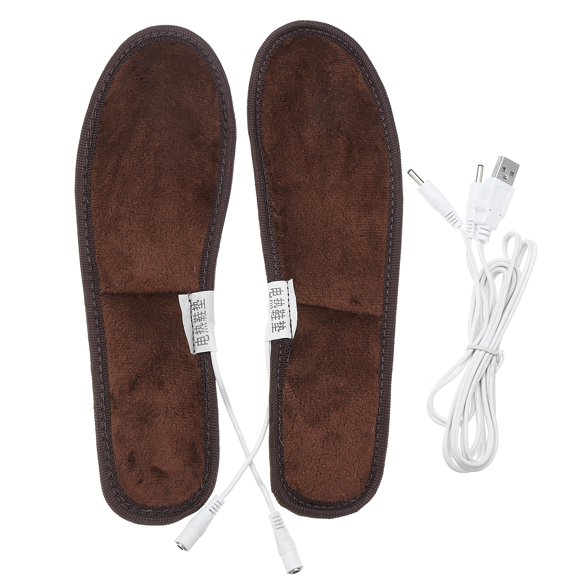 Electric Heating Insoles Foot Heater Winter Snow