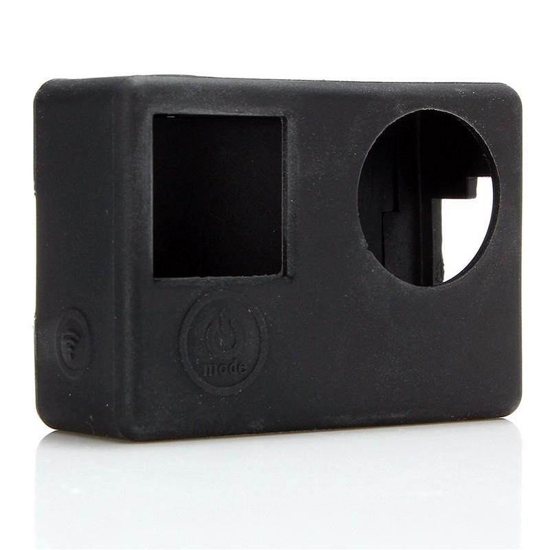 Защитная грязезащитная Soft Силиконовый Резина Чехол Кожаная чехол для GoPro Hero 4 Action Sport камера
