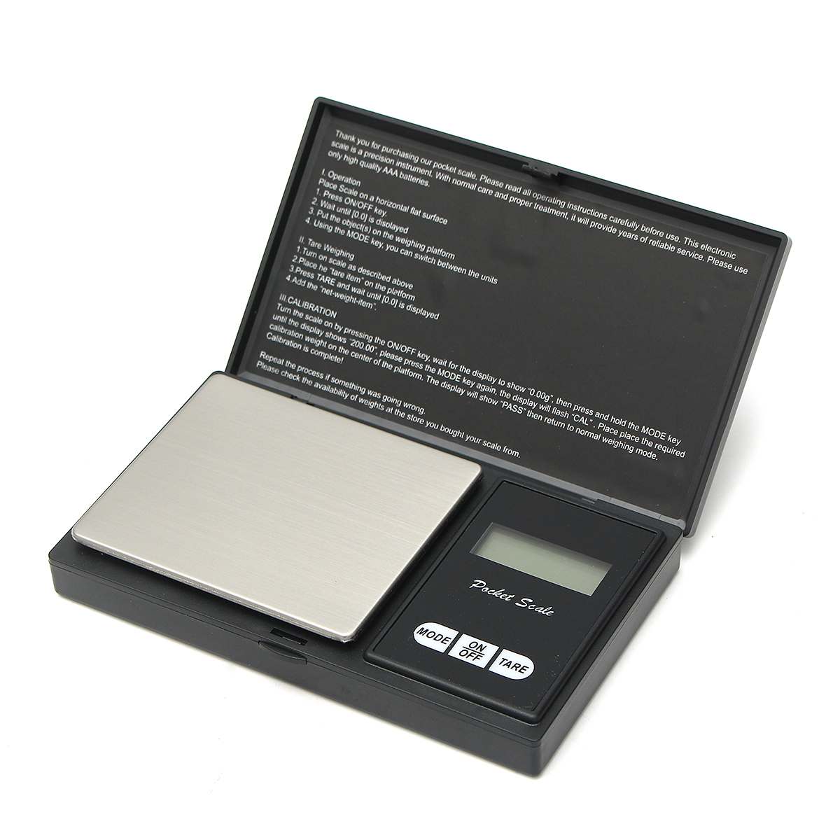 0.01g-500g Electronic Pocket Mini Digital LCD Gold Weighing Scale Gram