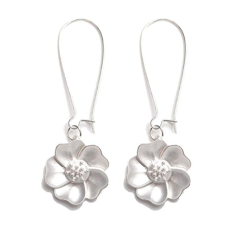 Мода Жасмин цветок падение Пирсинг Серьги для Женское