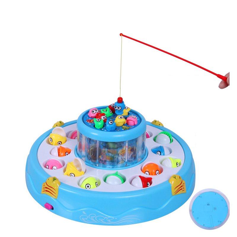 РыбалкаИгрушкиSetДетиЭлектрическиевращающиеся образовательные подарки Магнитные игрушки