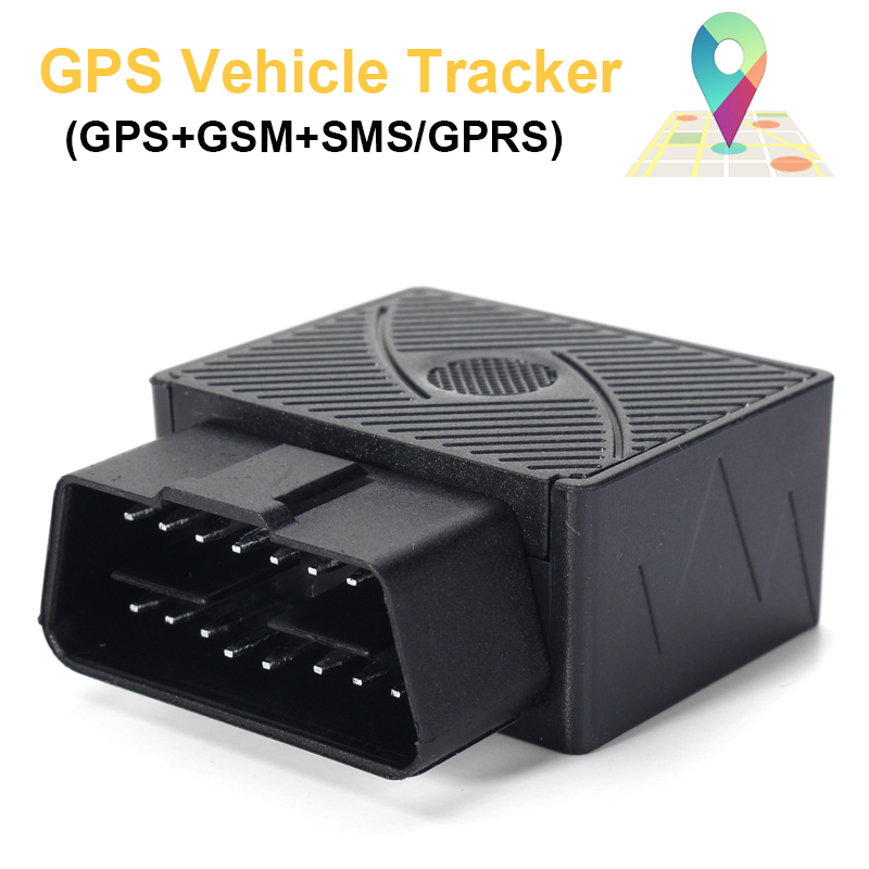 Gps Car Tracker >> 16 Pin Obd Real Time Car Vehicle Gsm Gprs Gps Tracker Locator