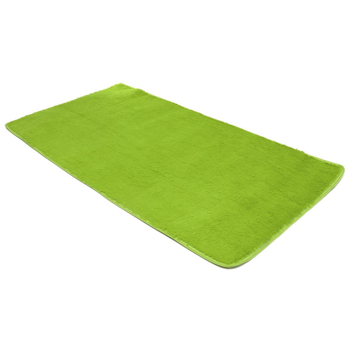90x160cm Bedroom Fluffy Floor Mat Soft Shaggy Blanket Non Slip Living Room Rug