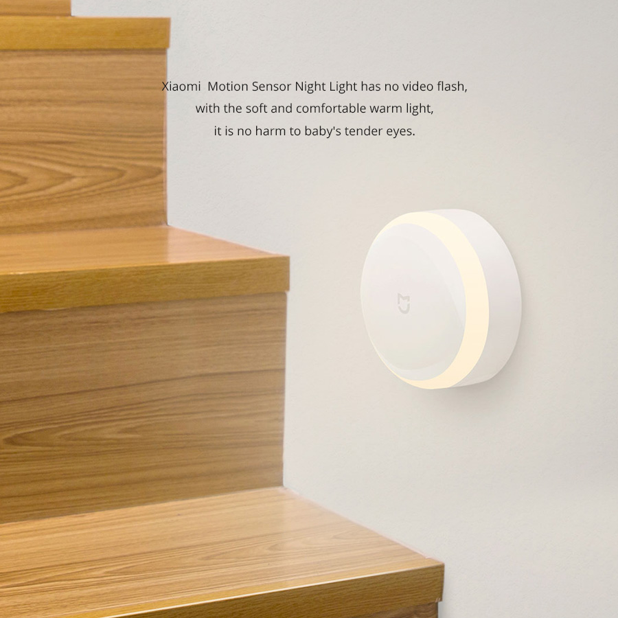 Image result for xiaomi motion sensor night light MJYD01YL banggood