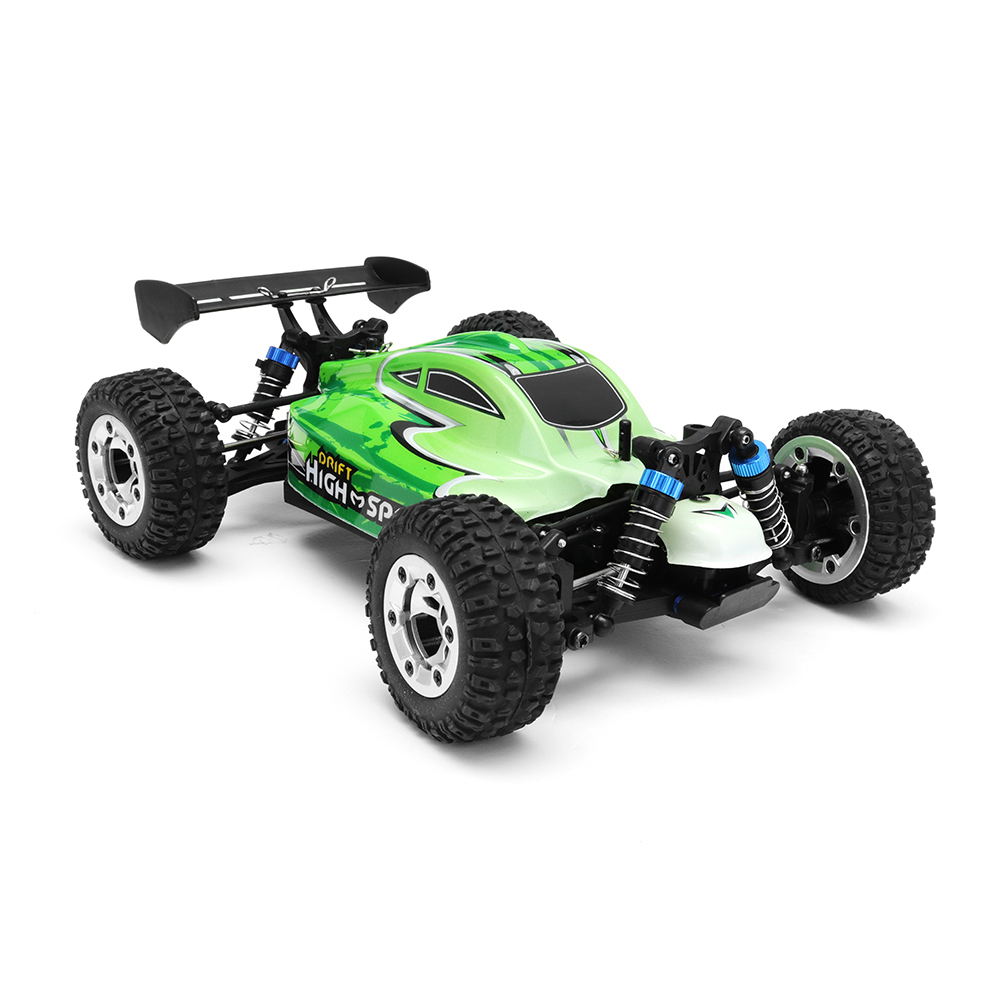 MZ GS1004 1/18 2.4G 4WD 390 Brushed Rc Car 55km/h High Speed Drift Buggy Off-road Truck RTR Toy