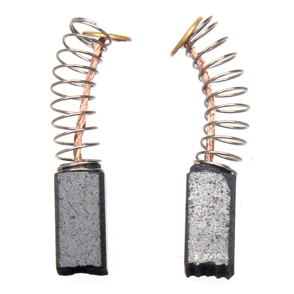 2pcs Electric Motor Carbon Brushes Motor Carbon Replacement Power Tools Parts