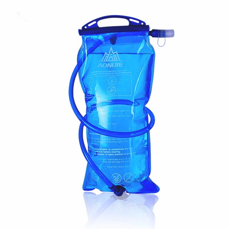 AONIJIE На открытом воздухе Велосипед работает Складная вода PEVA Сумка Спортивный гидратирующий мочевой пузырь для Кемпинг Пеший туризм