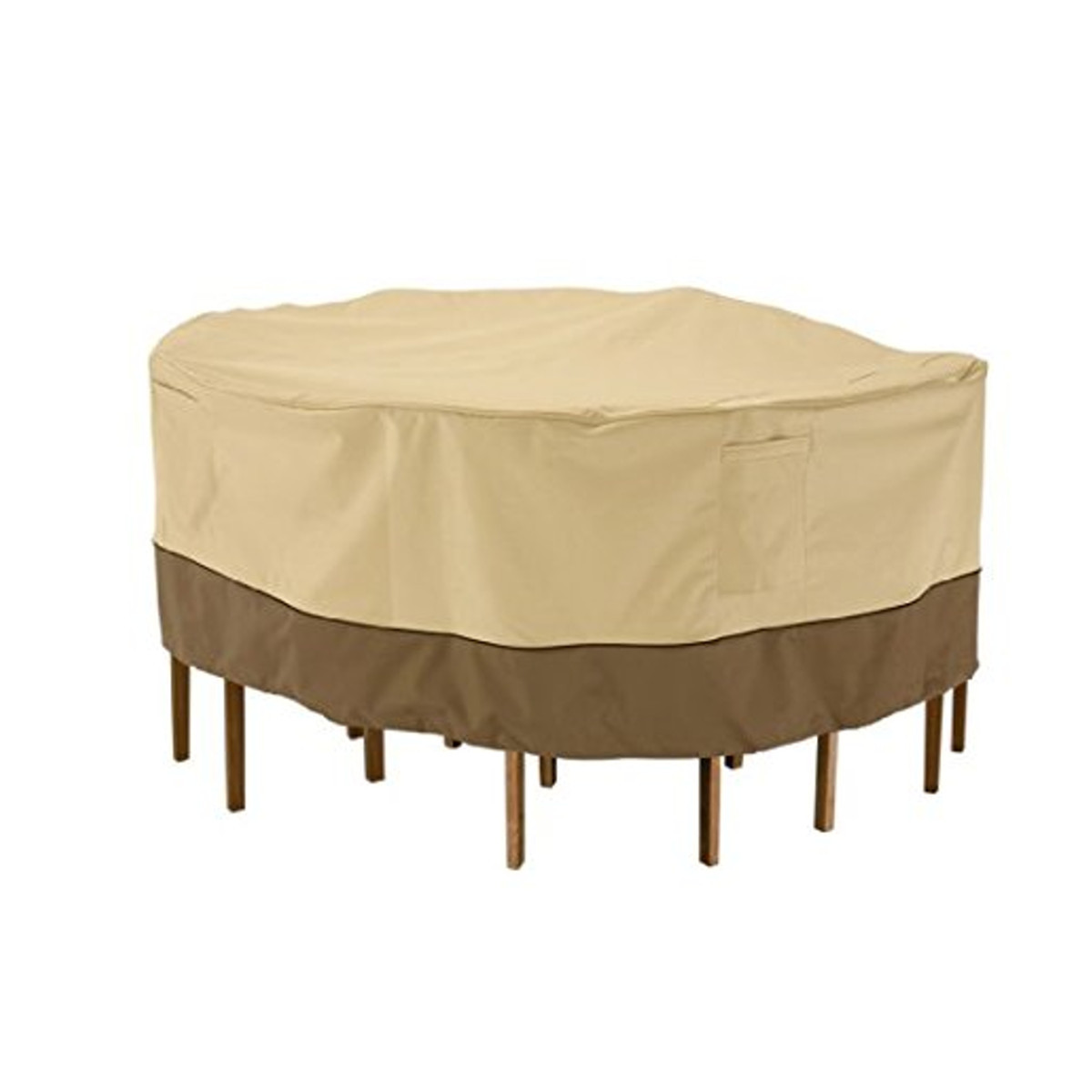 Garden Round Waterproof Table Cover Patio Outdoor Furniture Set Shelter Protection 4