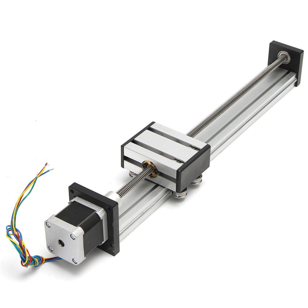 300mm Stroke Actuator CNC Lead Screw Linear Slide Rail Guide with 42 Stepper Motor