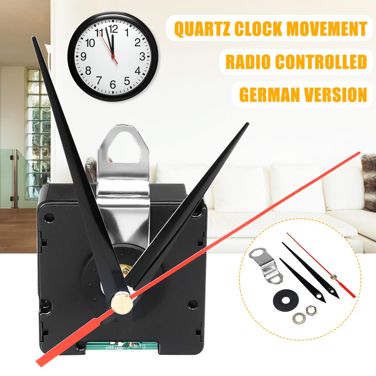 Atomic Radio Controlled Silent Clock Movement DIY Kit Germany DCF Signal