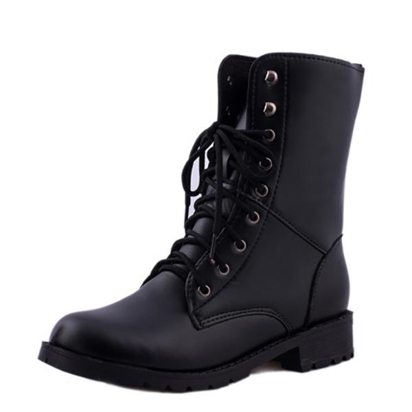 Размер США 5-10 зашнуровать вскользь мод Outdooors Женское Mid-Calf Ботинки