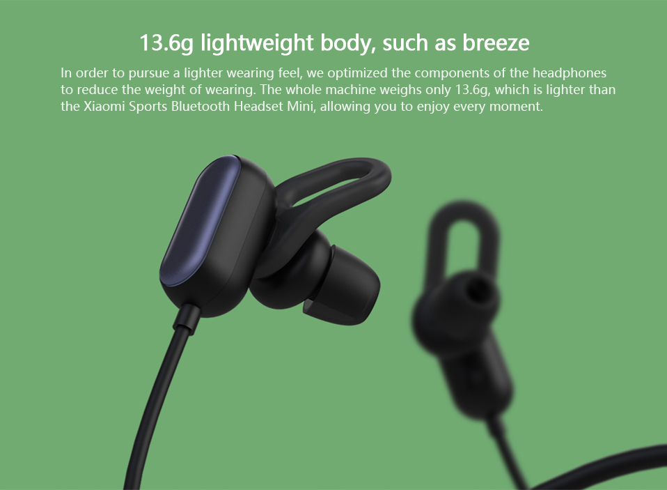 79bb2eb1630 xiaomi youth wireless bluetooth earphone noise cancelling waterproof ...