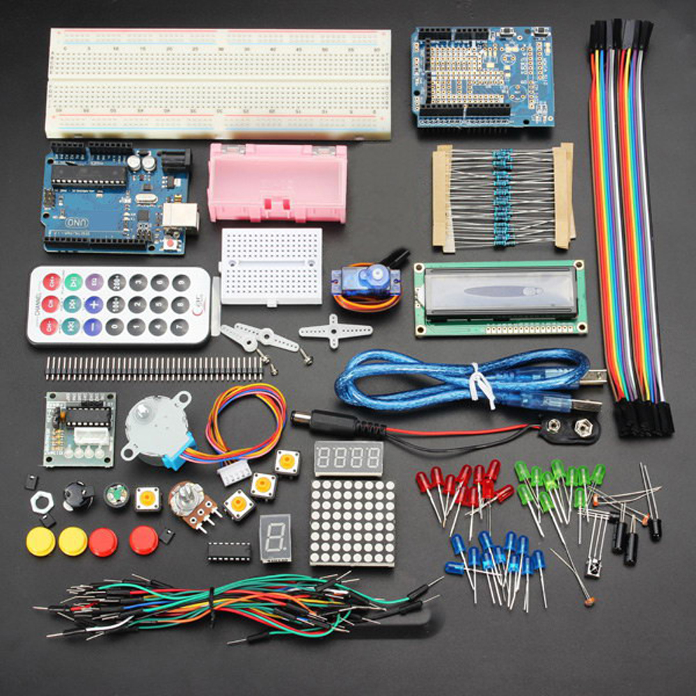 Geekcreit? UNOR3 Basic Starter Learning Kits No Battery Version For