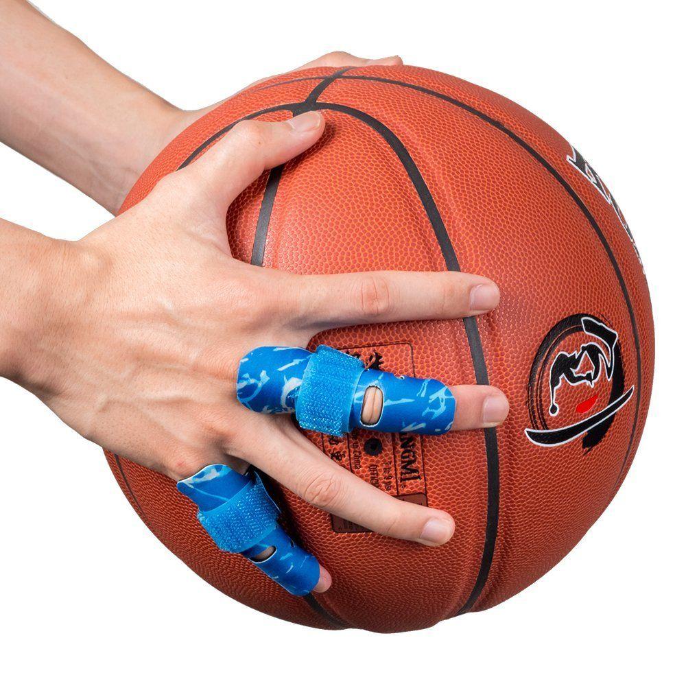 Outdoor Basketball Finger Support Finger Splint Brace Support Protector Belt Bandage Pain Relief