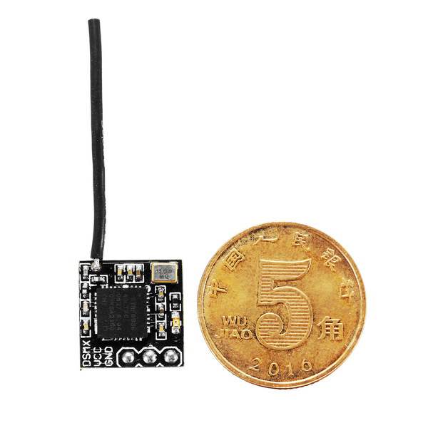 Only 0.8g 2.4G Compatible DSM2 ...