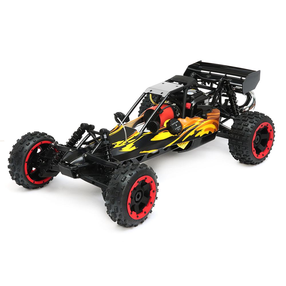 Rovan 1/5 2.4G RWD 80km/h Baja Rc Car 29cc Petrol Engine Buggy W/O Battery Toys