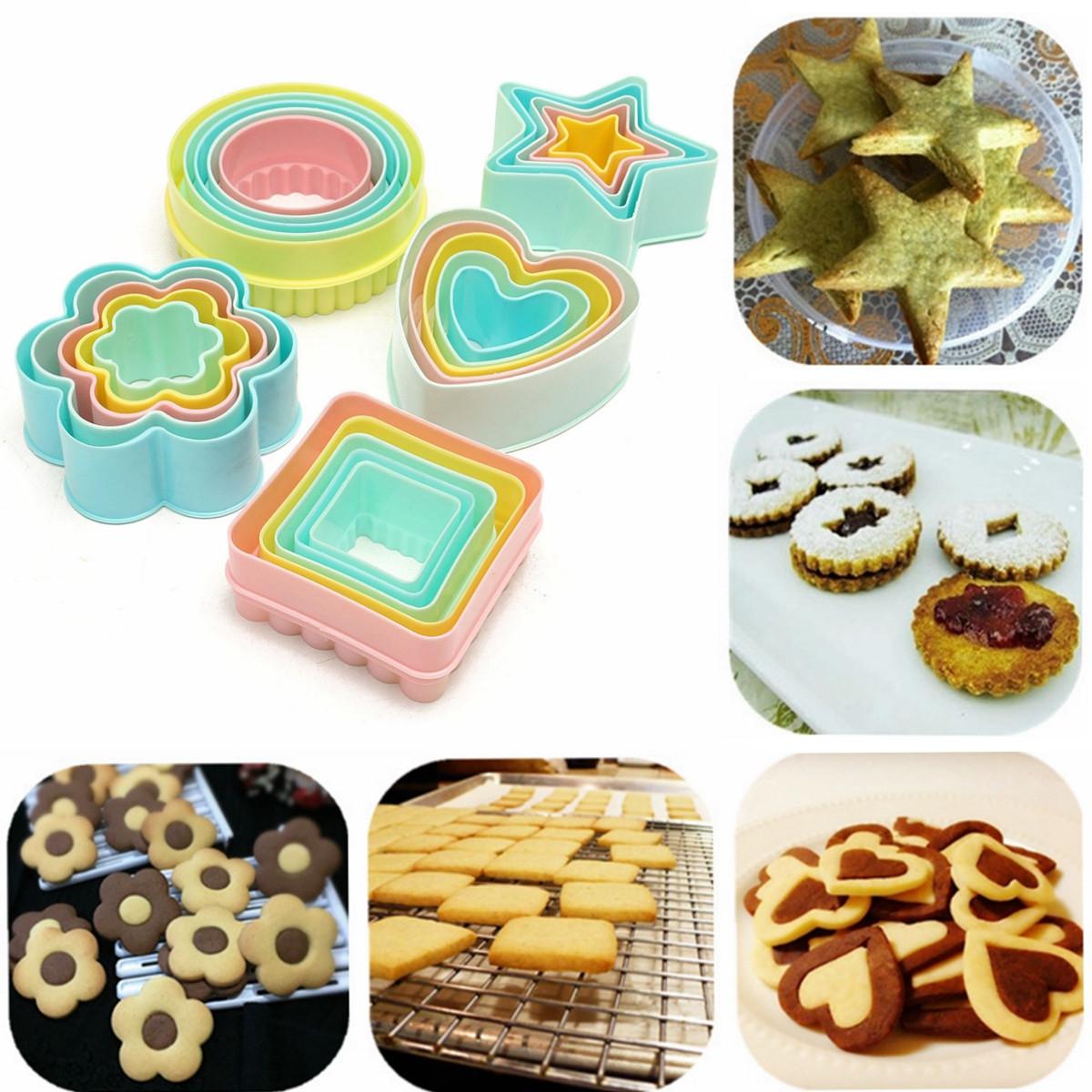Пластиковые поделки резак печенья выпечки печенья помадки торт Sugarcraft украшения формы