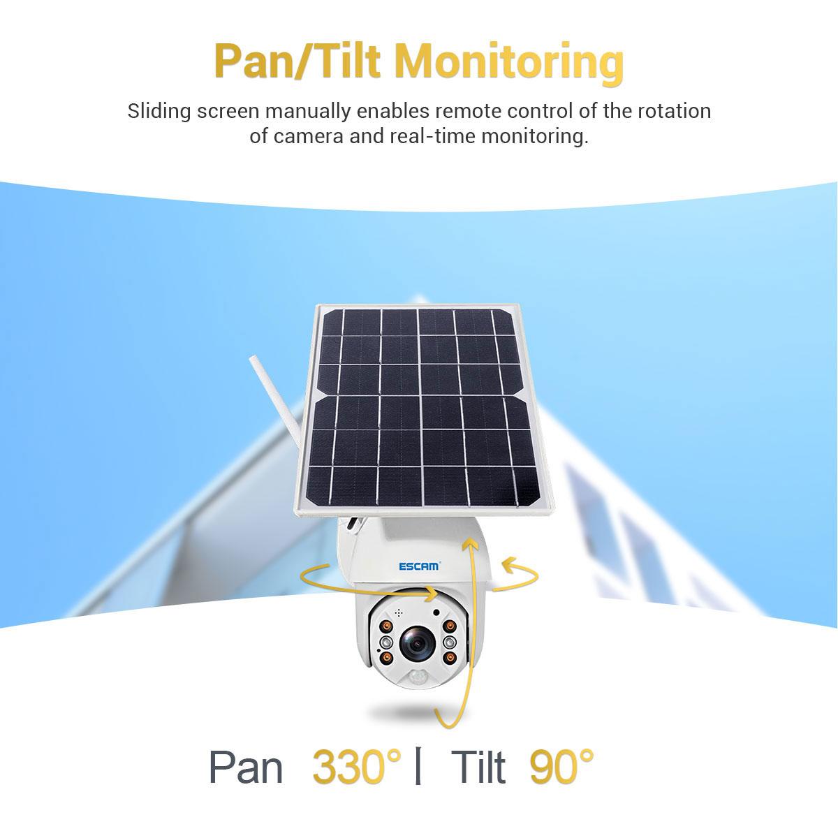 ESCAM QF280 pan monitoring