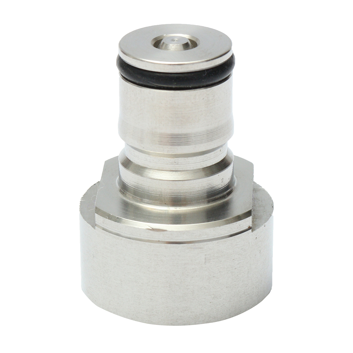 G5/8 Stainless Steel Carbonation Cap Adapter for Home Brew Beer Soda