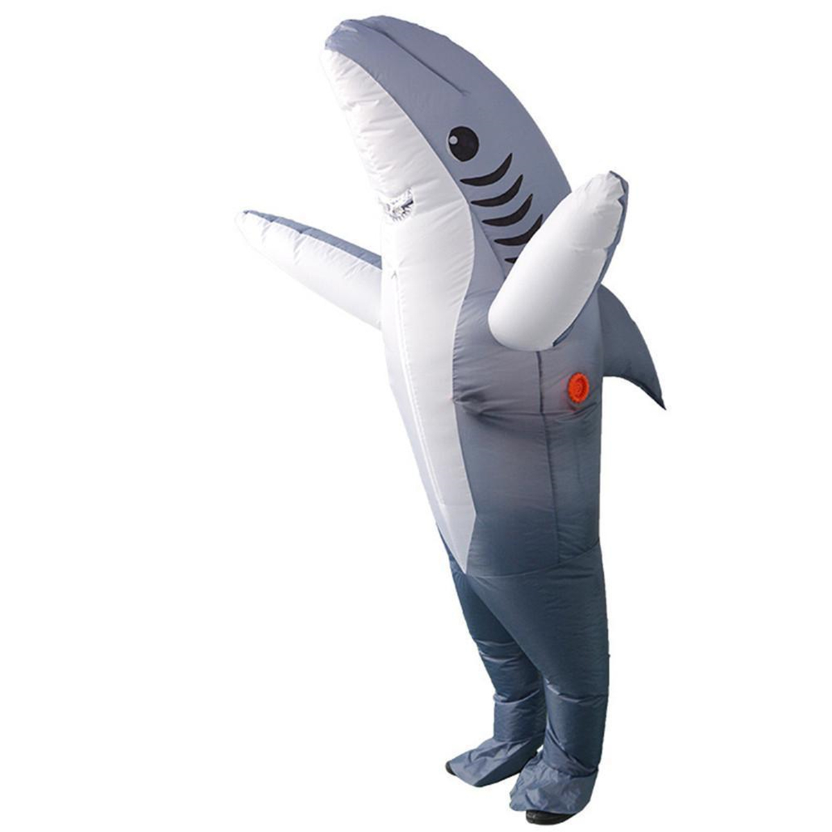 d7d59f148fba Inflatable Costumes Shark Adult Halloween Fancy Dress Funny Scary Dress  Costume