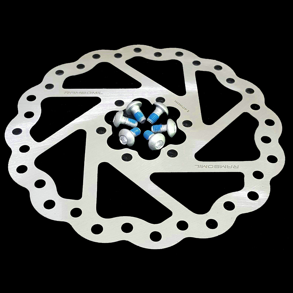 RAMBOMIL M-17 140MM Bike Bicycle Mechanical Brake Disc