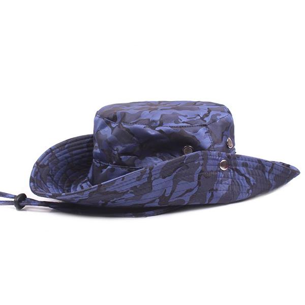 Men Outdoor Climbing Camouflage Fisherman Hat