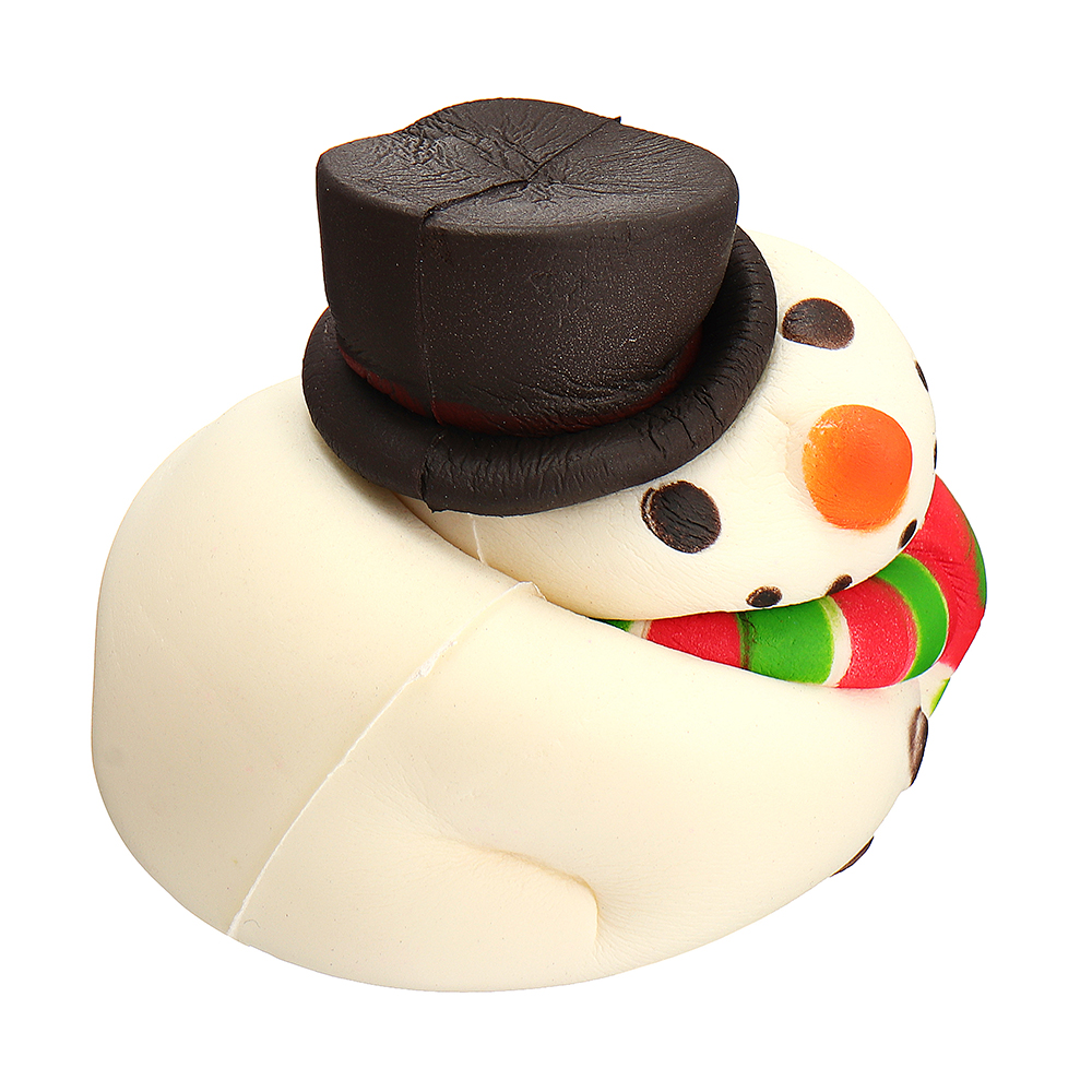 8fd8a21b5 Christmas Hat Snowman Squishy 15.8*8.8*9.2CM Soft Slow Rising With  Packaging Collection Gift Toy