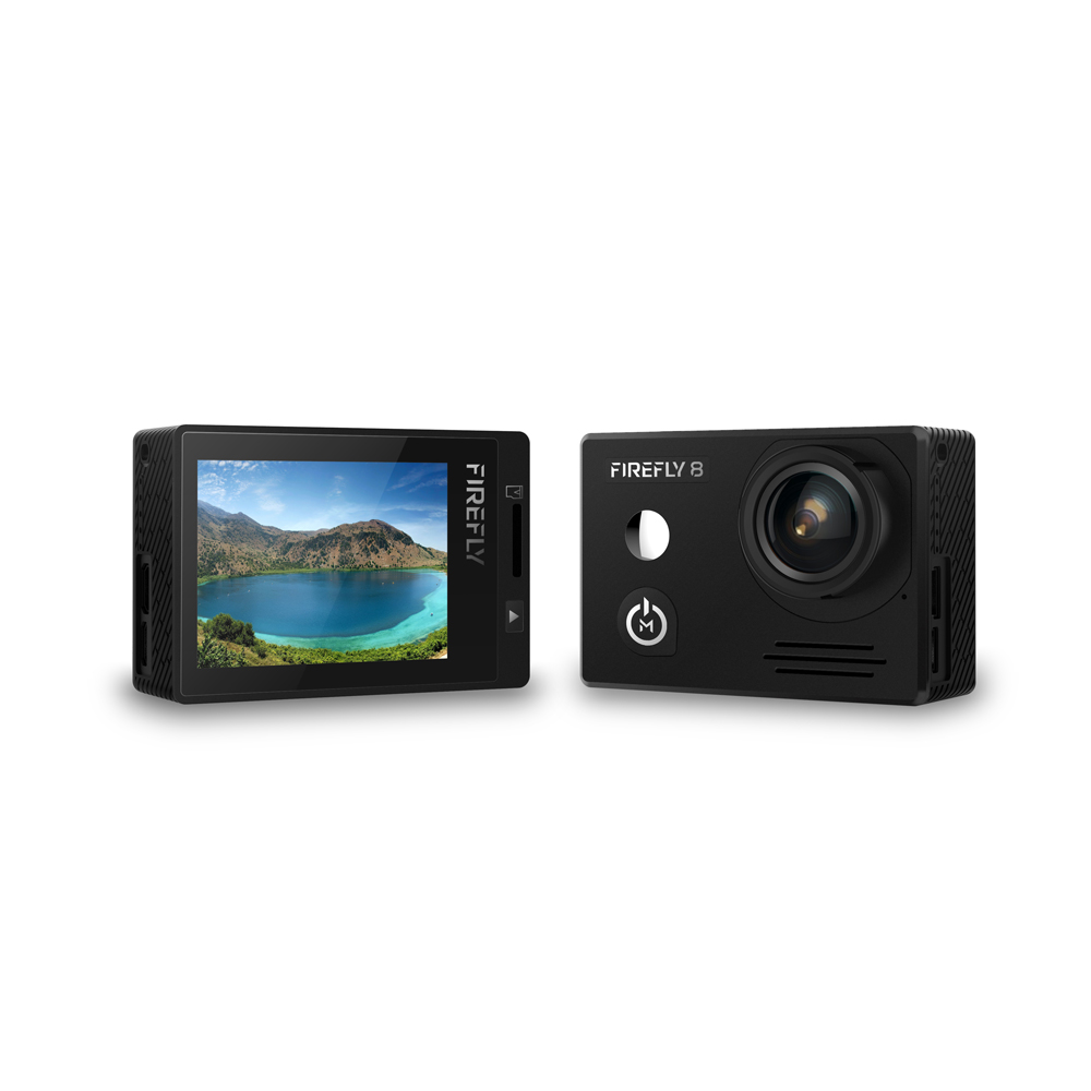 Hawkeye Firefly 8 2160P 170 Degree Wide Angle Bluetooth WiFi HDR FPV Action Camera Built-in Microphone