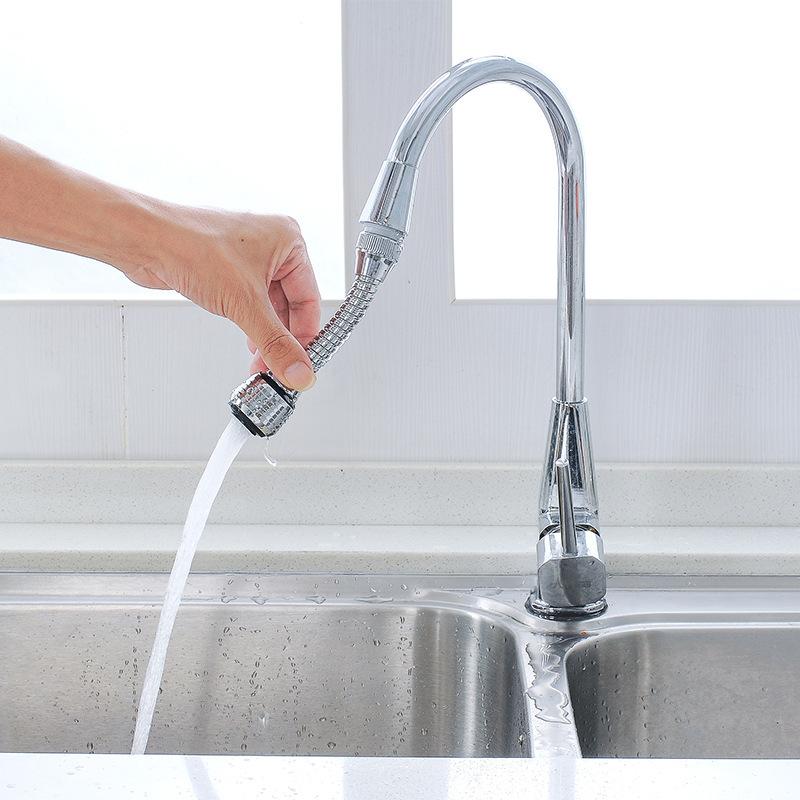 Расширенная Всплеск Кран-Экономия Воды Кухня Расширенный Фильтр Расширителя Спрей Для Душа