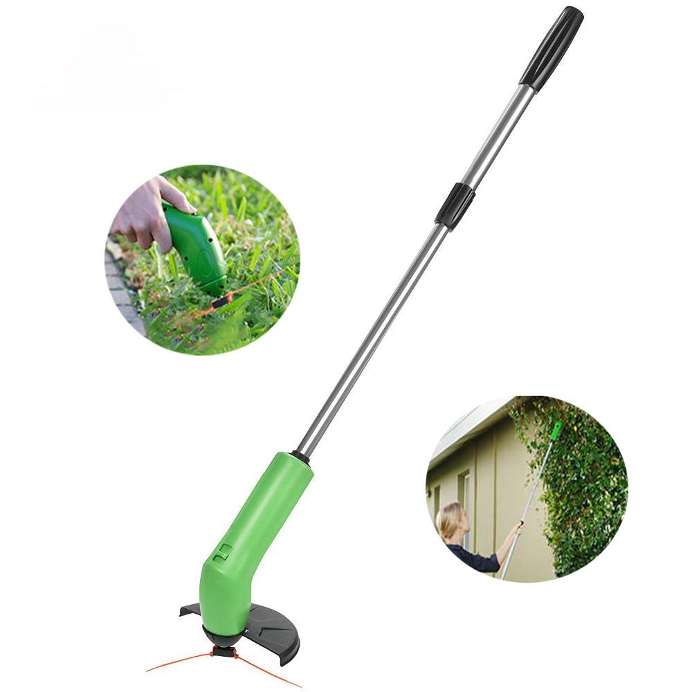 Сад Zip Trim Портативный беспроводной Триммер Газонокосилка Grass Edger работает со стандартными почтовыми связями