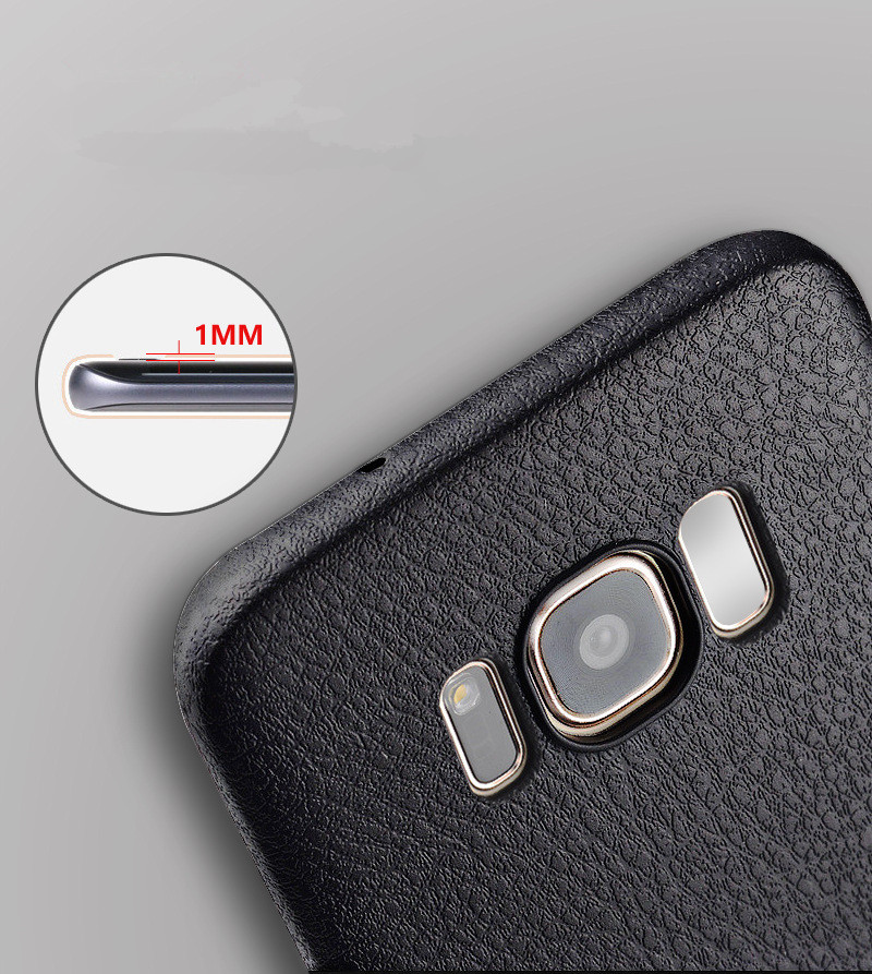 official photos e0bd8 6ee96 Soft TPU Silicone Ultra Thin Shockproof Leather Skin Back Cover Case for  Samsung Galaxy S8 Plus