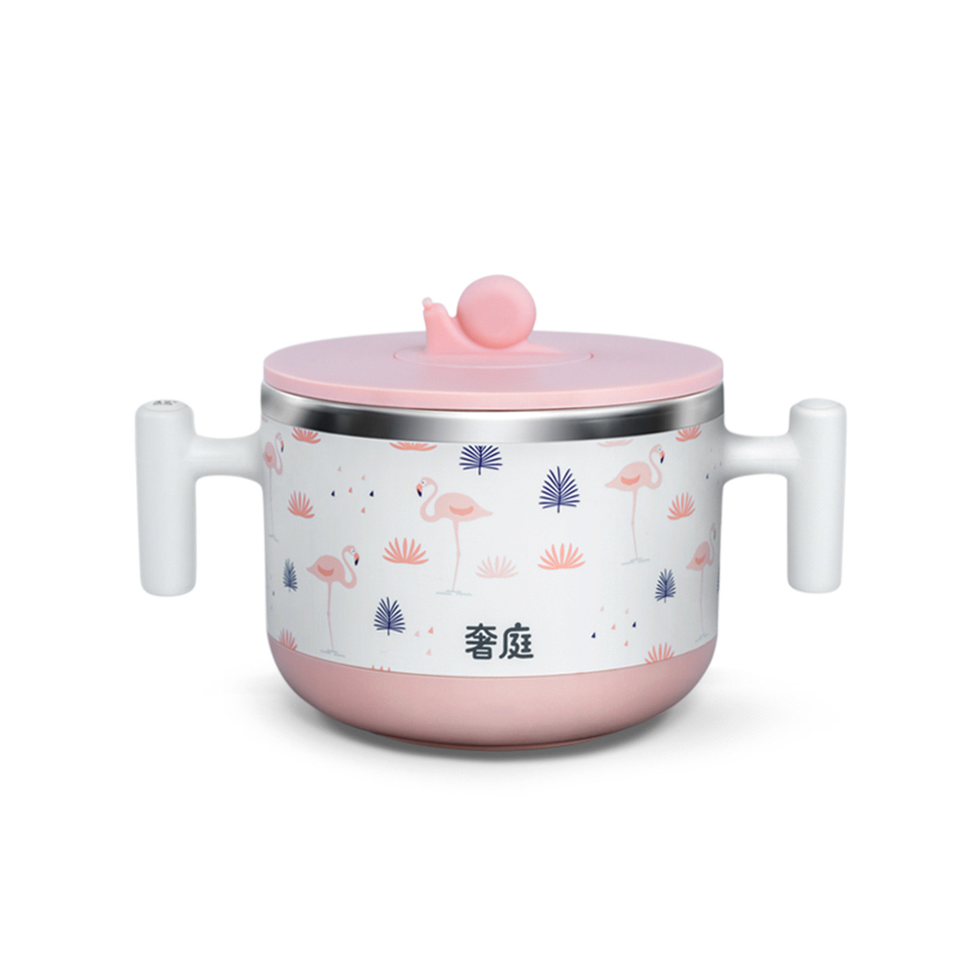 SHETING Intelligent Thermostat Baby Kids Food Bowl Thermostatic Food Milk Supplement Bottle Heater Warmer 440ml 304 Stainless Steel Liner from Xiaomi Youpin