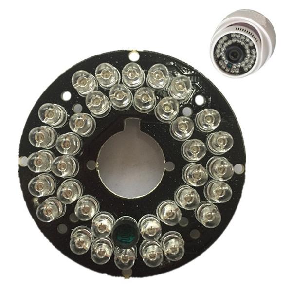 36 LED IR Lights 850nm Ширина Conch Hemisphere камера Инфракрасная осветительная доска