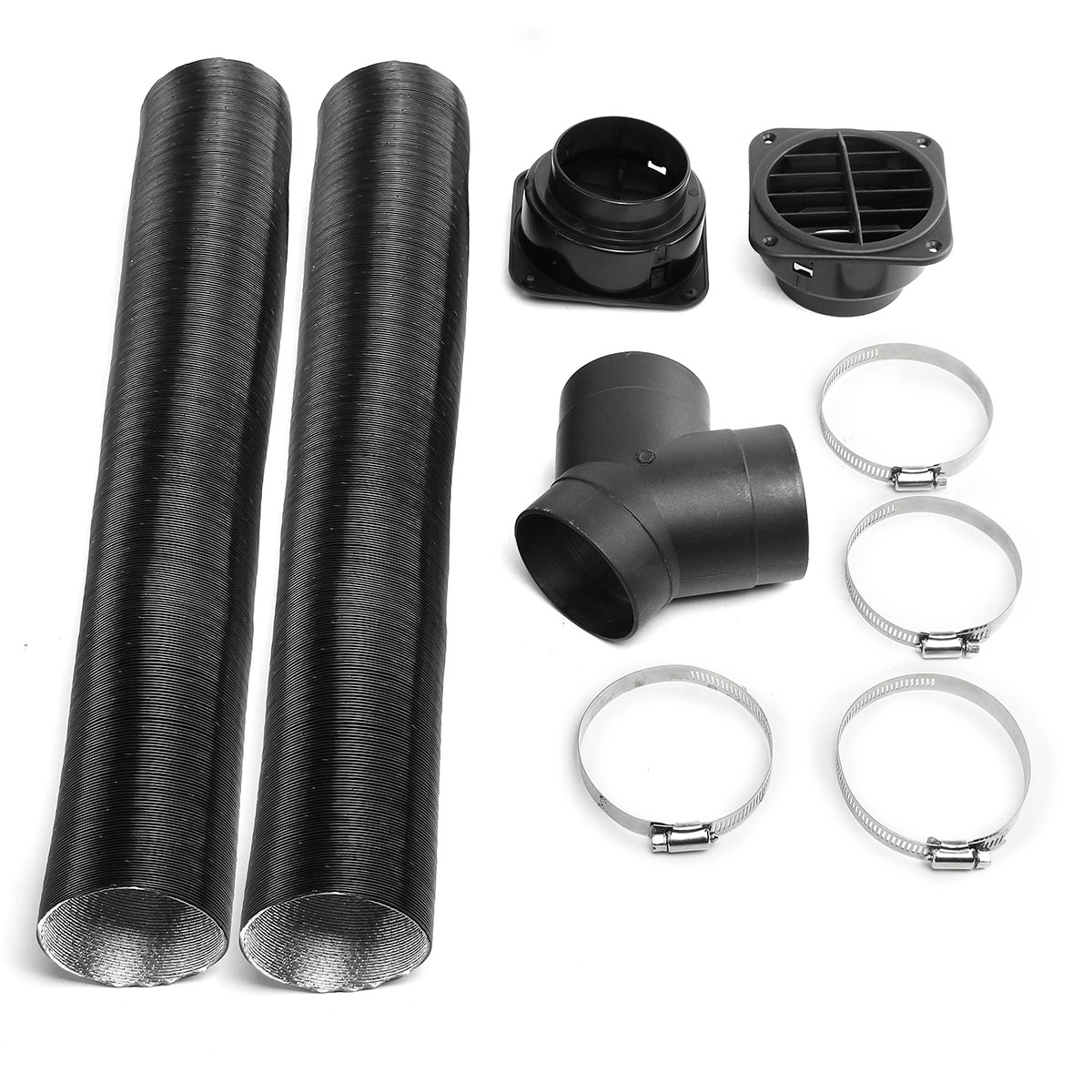 60mm T-shaped Heater Tee Ducting Branch for Eberspacher//Webasto Airtronic