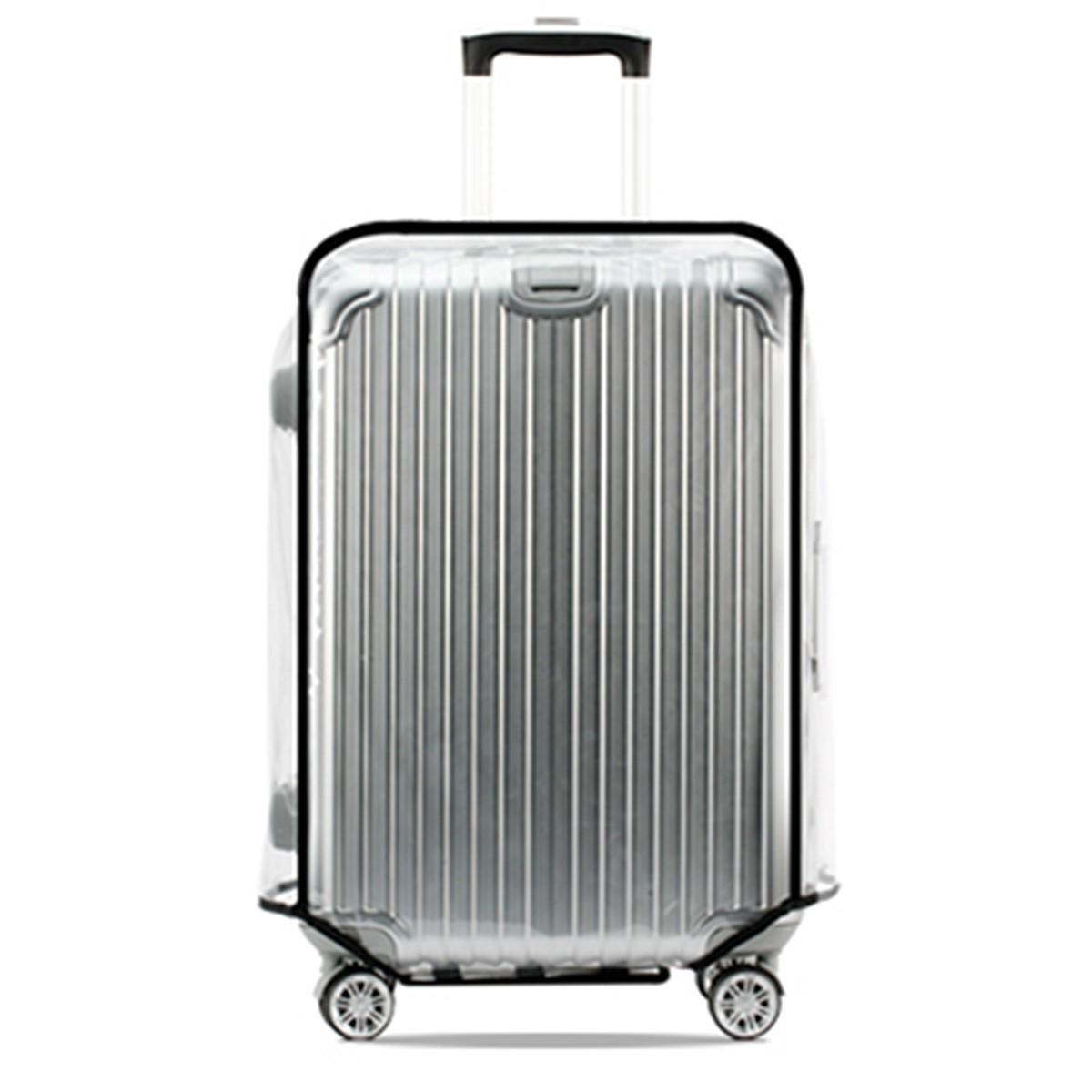 Универсальный Водонепроницаемы Прозрачный защитный Багаж Обложка Чемодан Чехол Путешествия фото