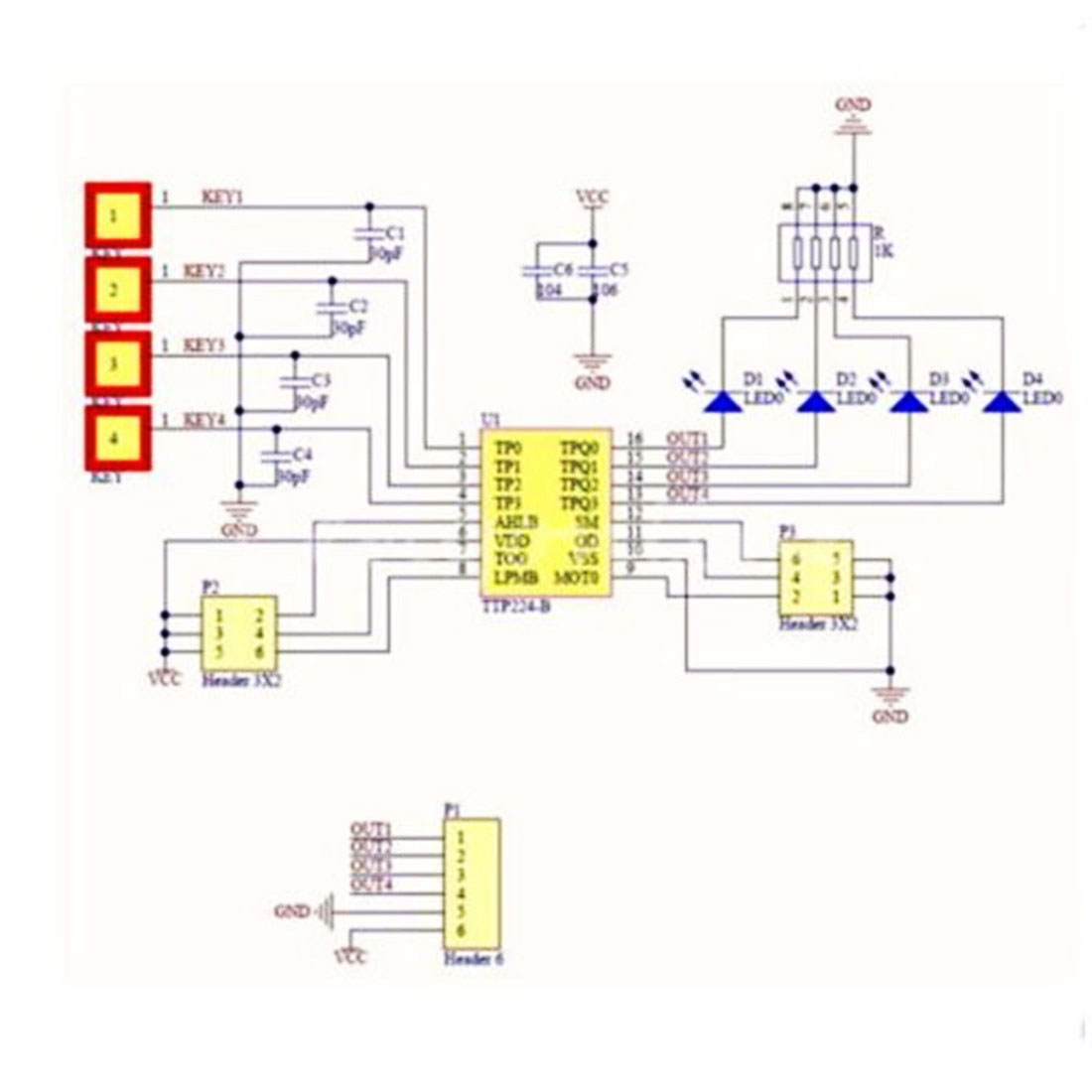 Channel Rf Remote Control Circuit Diagram Tattoo Designs - Wiring