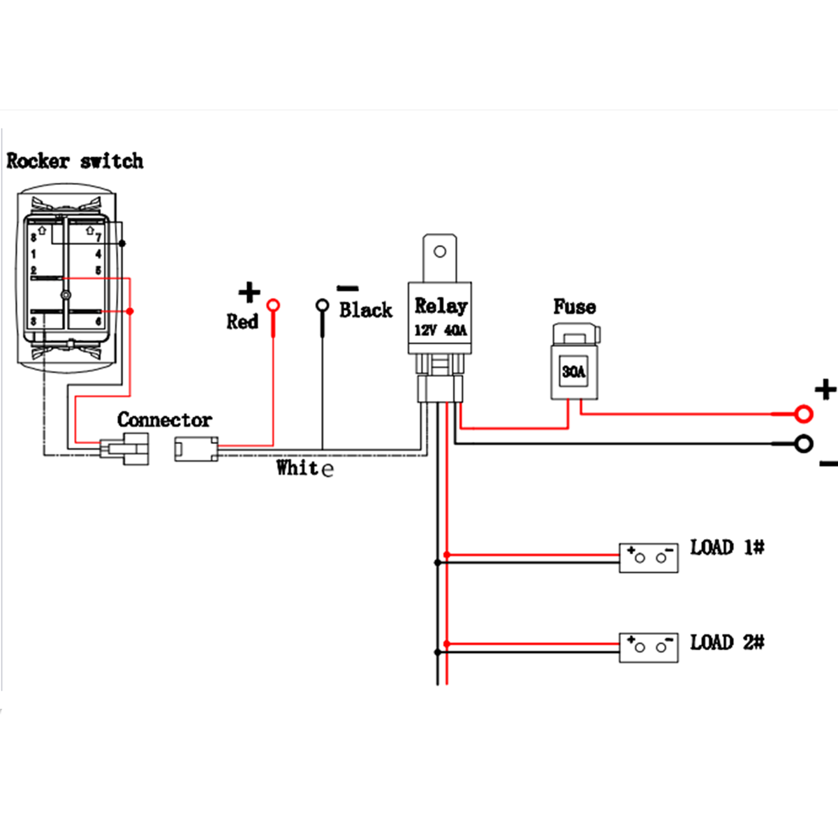 Dda13 Magic 12 Volt Relays Wire Diagrams