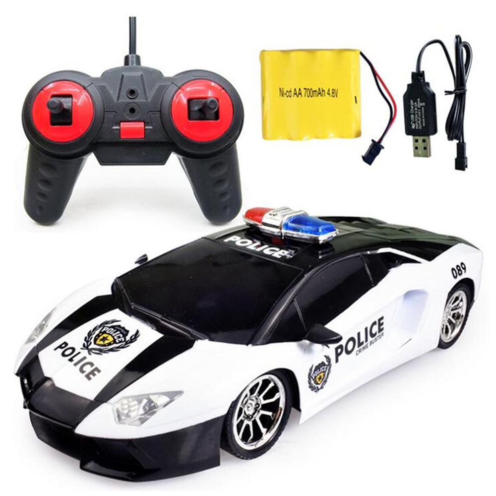 JiaToys266-51/12Wireless 4CH Имитация Police Rc Авто с фронтальной моделью Светодиодный